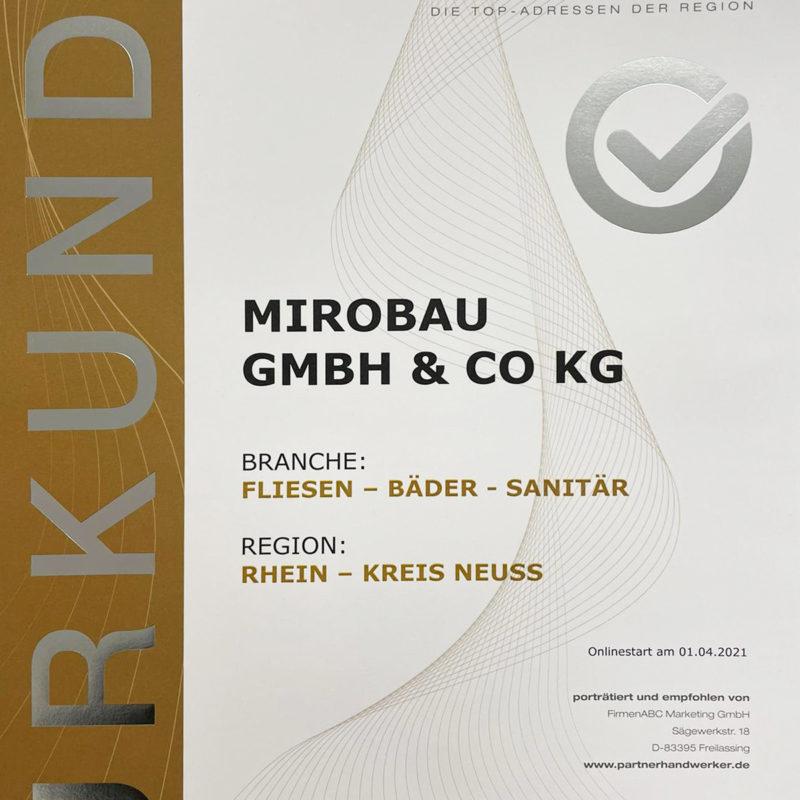 mirobau-zertifikat-tophandwerker